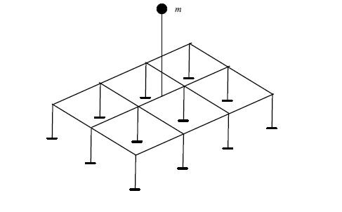 Расчетная схема здания с